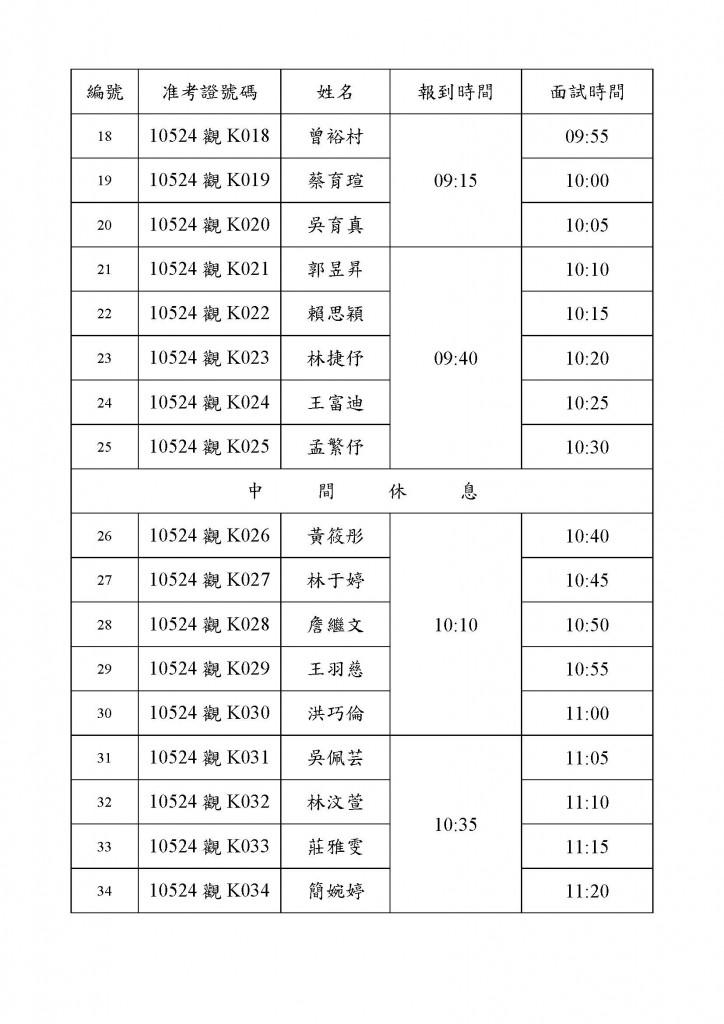 105年度產攜班甲組面試時間表(公告系網)_頁面_2